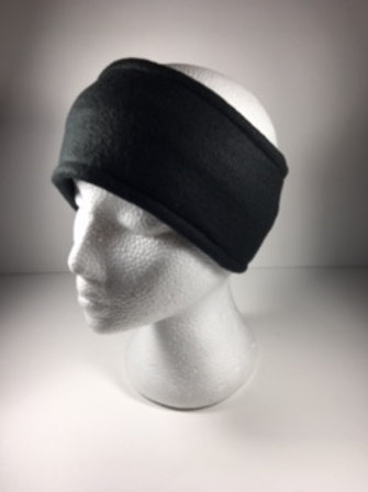 Fleece Ear Warmer-Black