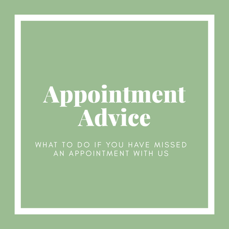 APPOINTMENT ADVICE - JAN 2021