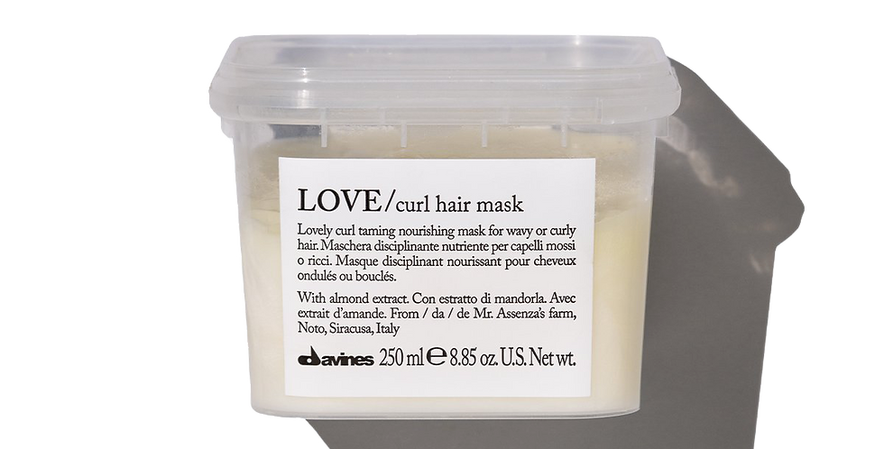 LOVE Mask for curly hair