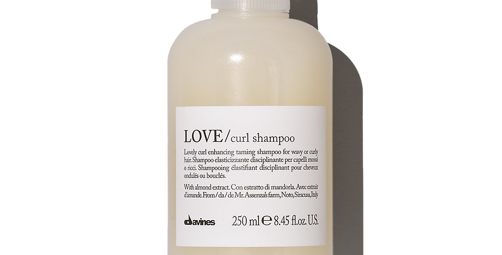 LOVE Shampoo for curly hair