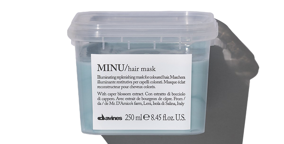 MINU Mask for coloured hair