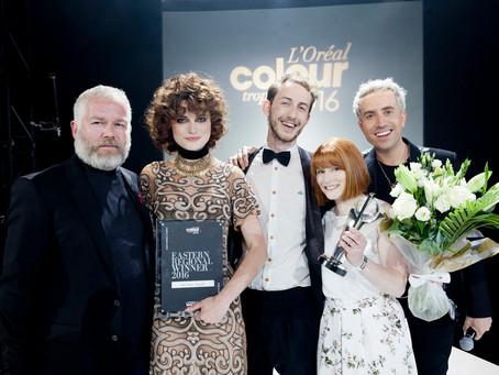 VAE HAIR WINS THE L'ORÉAL COLOUR TROPHY 2016 EASTERN AWARD