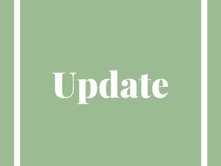 LOCKDOWN UPDATE - 1ST NOV 2020