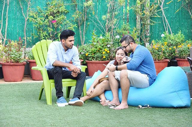Co-living at The Hub