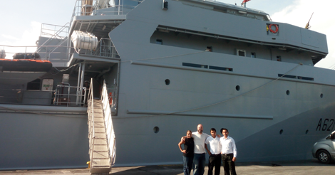 Catering en Marina Francesa