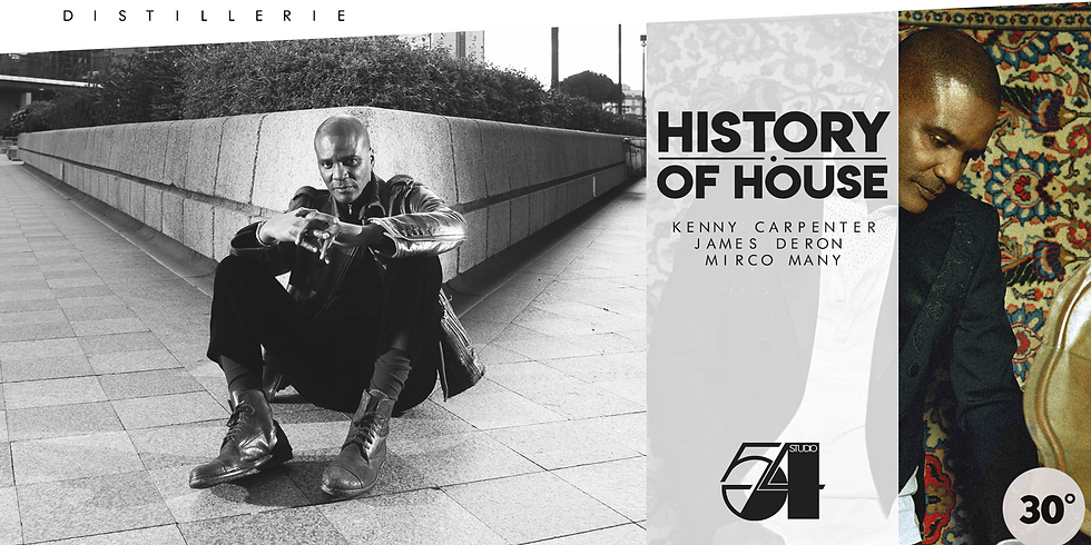 HISTORY OF HOUSE W/ KENNY CARPENTER
