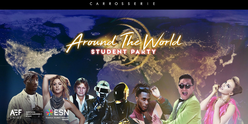 Around The World - Student Party