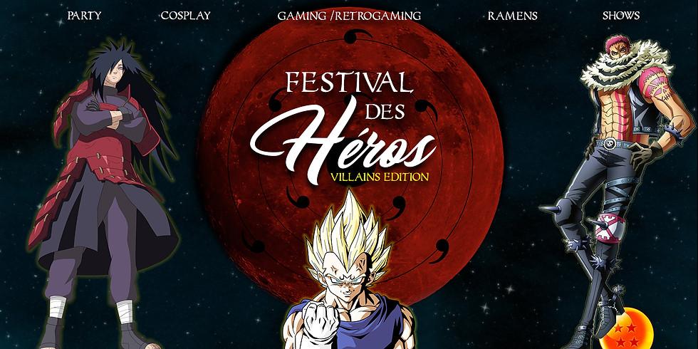 FESTIVAL DES HÉROS - VILLAINS EDITION