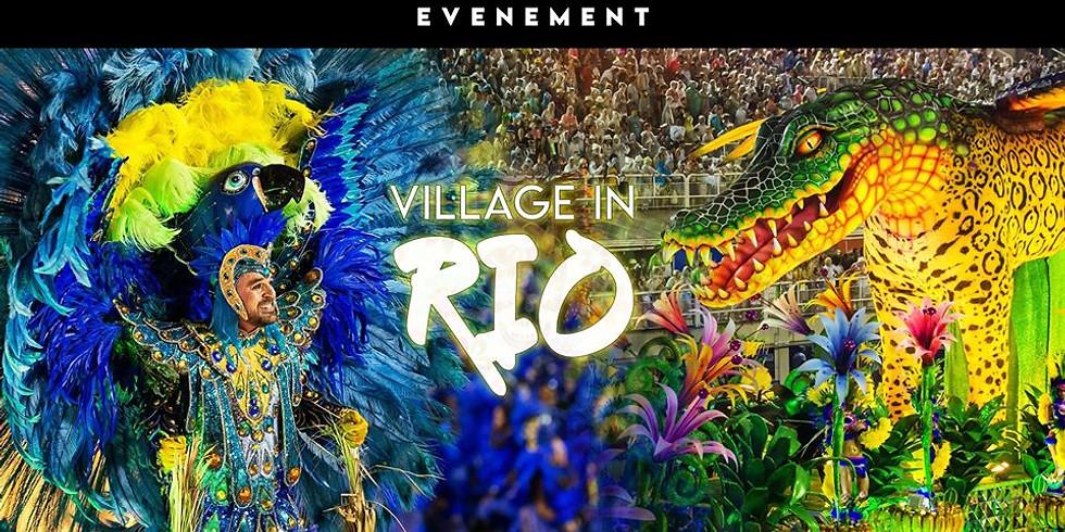 Village in Rio ! Maior Carnaval De Genève