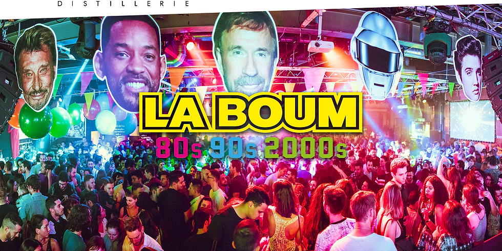 LA BOUM DE GENEVE : 80'S 90'S 2000'S