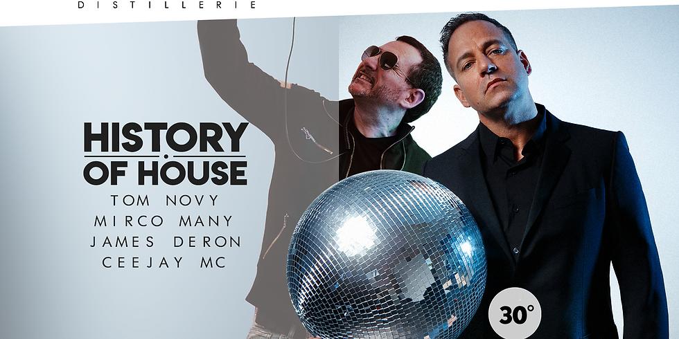 HISTORY OF HOUSE W/ TOM NOVY
