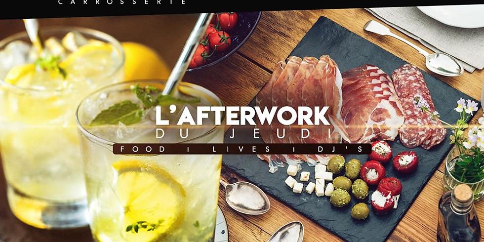 AFTERWORK DU JEUDI - LIVE & FOOD