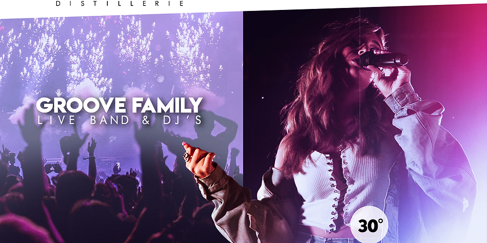 GROOVE FAMILY - LIVE BAND & DJ'S