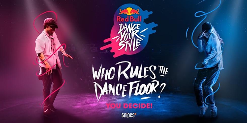 REDBULL DANCE YOUR STYLE GENEVA QUALIFIERS