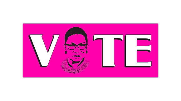 #WinItForRBG VOTE Bumper Sticker