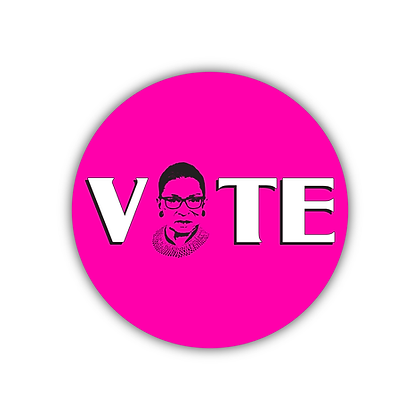 #WinItForRBG VOTE Button