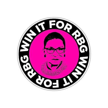 #WinItForRBG Logo Magnet