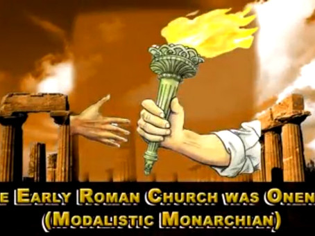 The Early Roman Church Was Oneness (Modalistic Monarchian), Response to Dr. Morrison Part 5