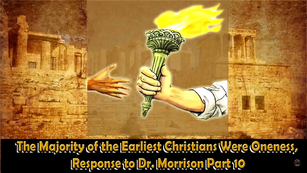 The Majority of the Earliest Christians Were Oneness