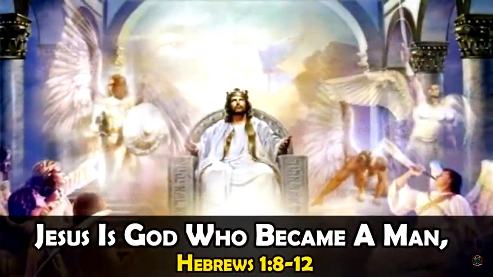 Jesus Is God Who Became A Man