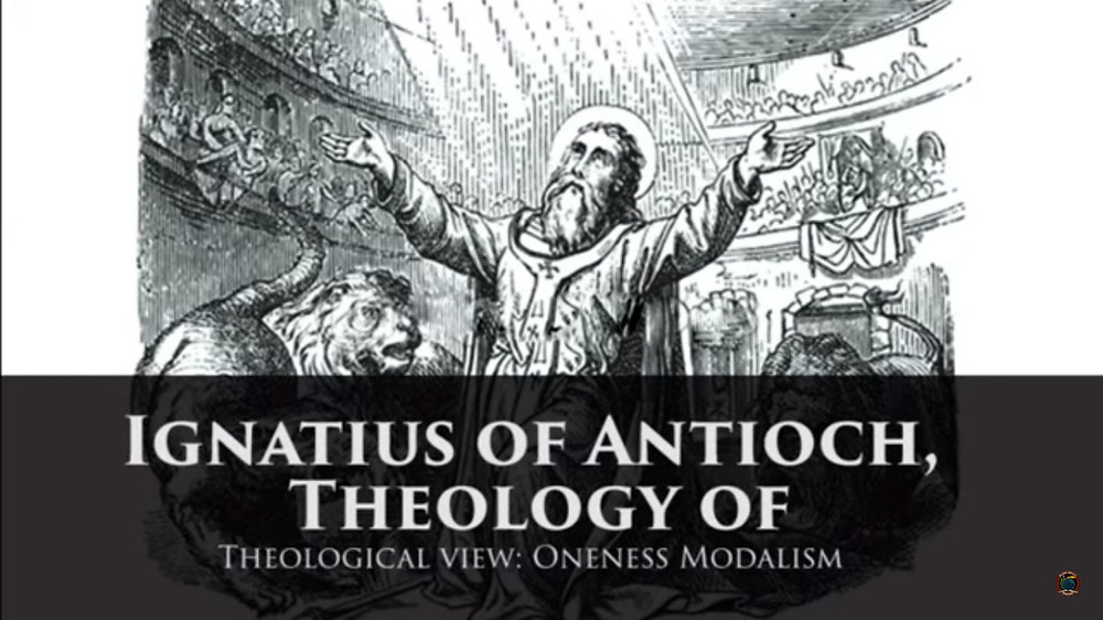 Ignatius of Antioch, Theology of Ignatius, Church History