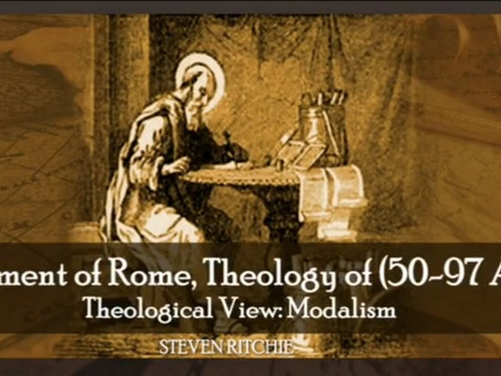 Clement of Rome, Theology of (50-97 AD)