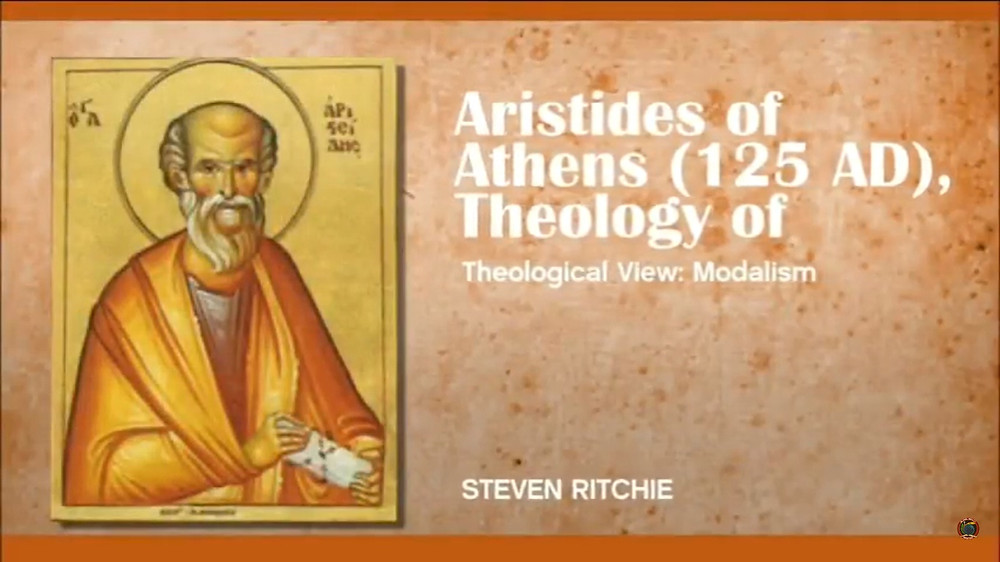 Theology of Aristedes of Athens