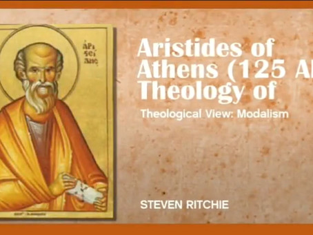 ARISTEDES OF ATHENS (125 AD), THEOLOGY OF