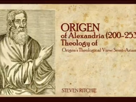 Origen of Alexandria (200-253), Theology of