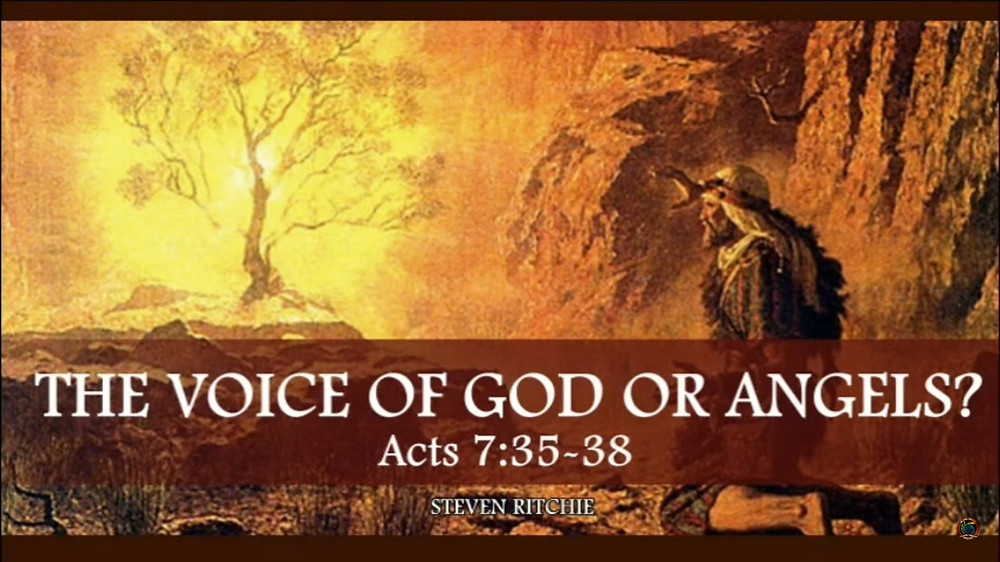 The Voice of God or Angels?