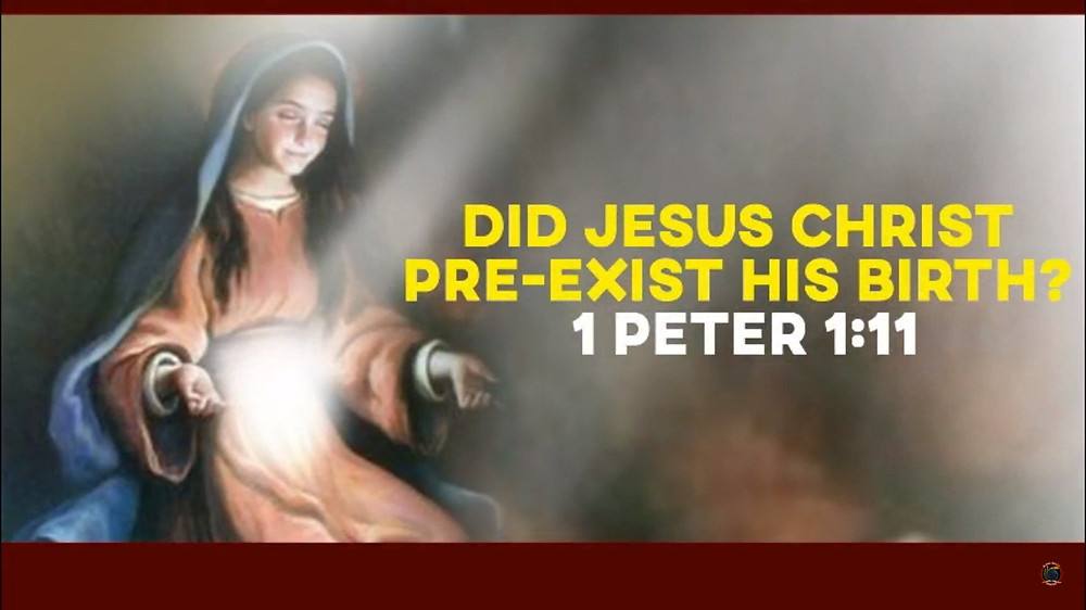 Did Jesus Christ Pre-exist His Birth