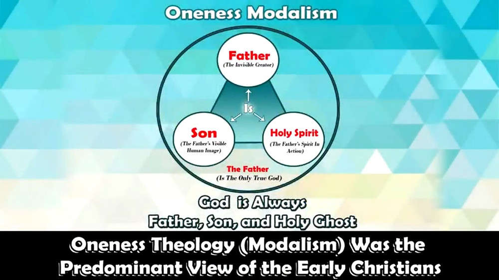 Oneness Theology (Modalism) Was the Predominant View of the Early Christians