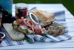 proscuitto and brie baguette