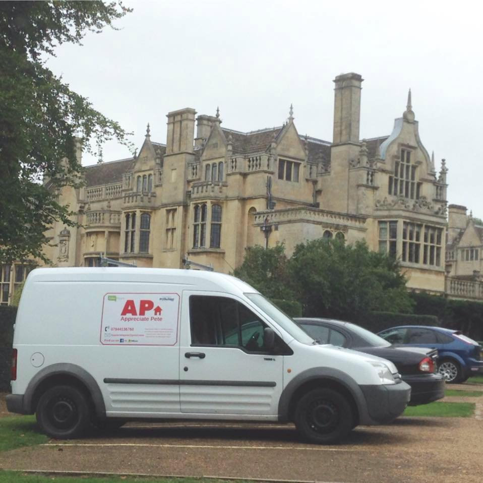 Image of Appreciate Pete work van