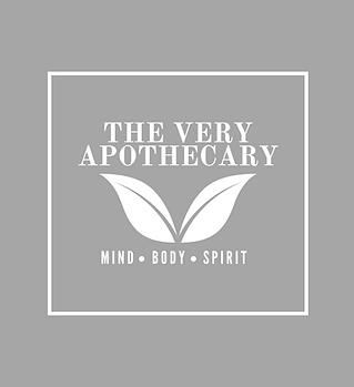 The Very Apothecary Logo-Grey&White-1500