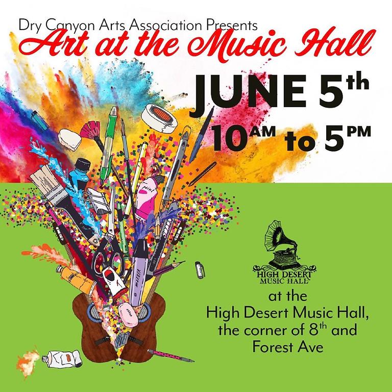 DCAA Art at the Music Hall