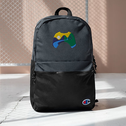 Embroidered Champion Backpack - River Forge Games Logo