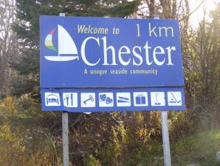 Chester Village Signage