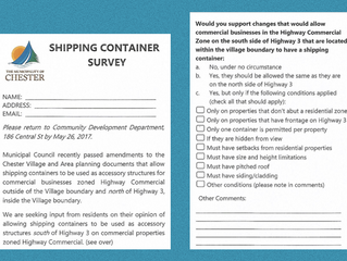 Shipping Container Survey