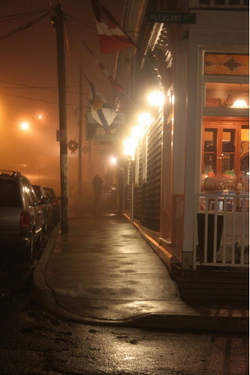 Fo'c'sle in the Fog