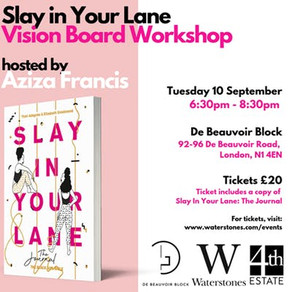 Slay In Your Lane presents: The Vision Board Workshop