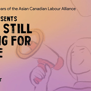 Event - Canada - Asians Still Fighting for Justice