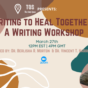 Writing to Heal Together: A Writing Workshop