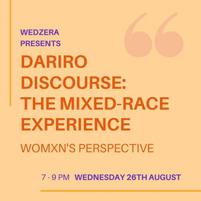 Event - UK - Dariro Discourse: The Mixed-Race Experience