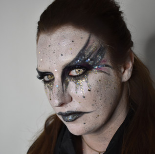Glitter monster