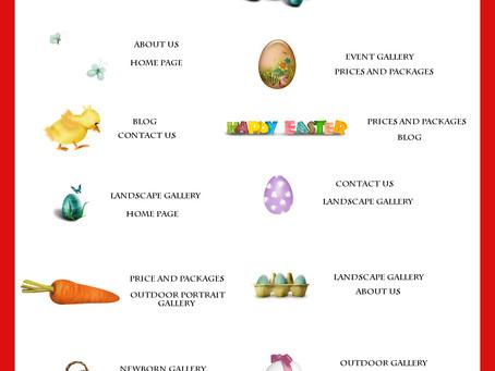Easter Egg Hunt Challenge Winners and Runner Up