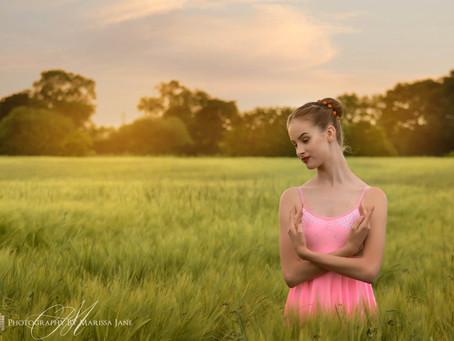 Alix Dances the day away
