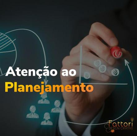 ATENÇÃO AO PLANEJAMENTO DE POSTS.