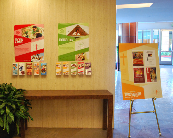 Brochures and Signage