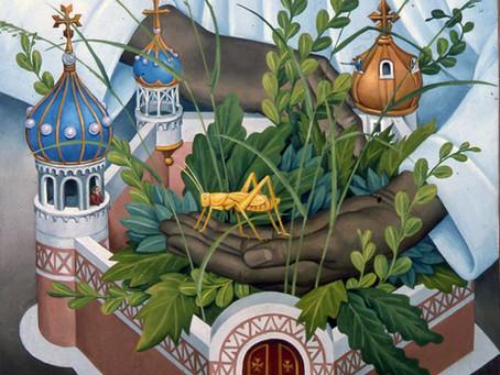 New painting added: Grasshopper